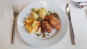Frittata mit Huhn